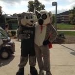 Baxter and the Hinman Mascot, Tiki