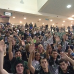 The Zoo got excited before the basketball showcase on Friday