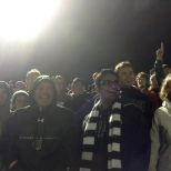 The BU Zoo was on in full force at the men's soccer game on Saturday.