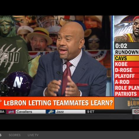 The BU Zoo shirt made an appearance on Pardon the Interruption on ESPN