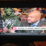 The BU Zoo shirt made an appearance on the 6pm Sportscenter on ESPN