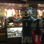 Baxter celebrated Green Day Friday at Jazzmans