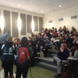 The BU Zoo crashed yet another info session to educate prospective students about our school spirit