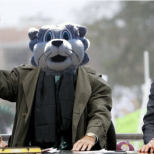 BU Zoo Public Relations VP Brett Malamud had some fun photoshopping Baxter's head on ESPN's Lee Corso in advance of the men's basketball game at Notre Dame that was broadcasted on ESPN3