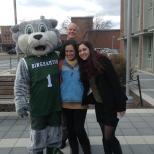 Even Binghamton University President Harvey Stenger got in on Green Day Friday!