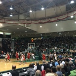 A look at the packed students section on Tuesday night (Via Coach Cimino)