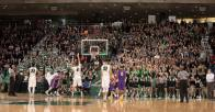 Students packed the house on Monday February 8 (Photo via BU Athletics)
