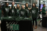 BU Zoo shirts were distributed to the first 250 students