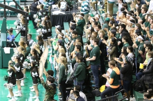 Students packed the house on Monday February 8